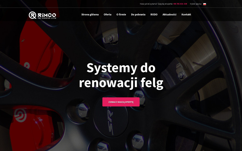RIMCO RIMS RENOVATION SYSTEM