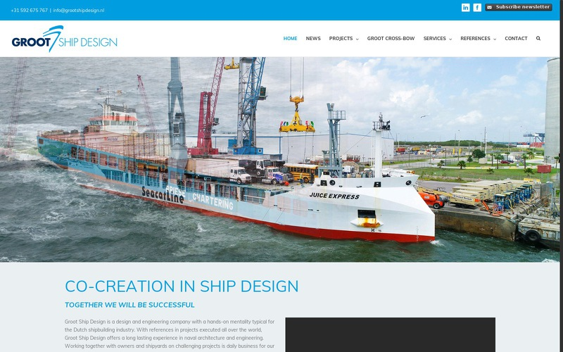 GROOT SHIP DESIGN POLAND SP Z O O